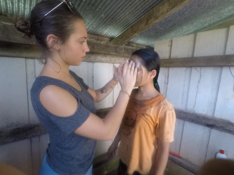 A look back at Ilona's first week in the Ban Pak Audomsung centre